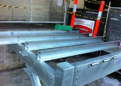 Loading dock fabrication