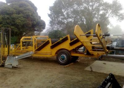 Custom harvester fabrication