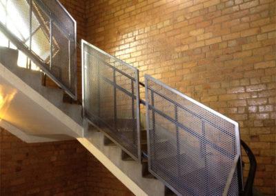 Custom balustrade
