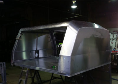 Custom ute canopy fabrication