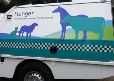 Custom ute canopy and tray for Ranger